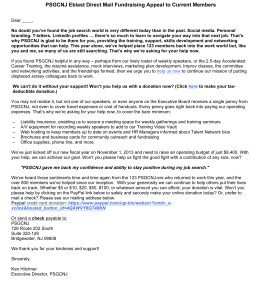 Direct Mail Fundraising Letter (email)