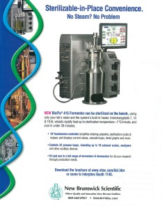 SIP Fermentor Advertisement